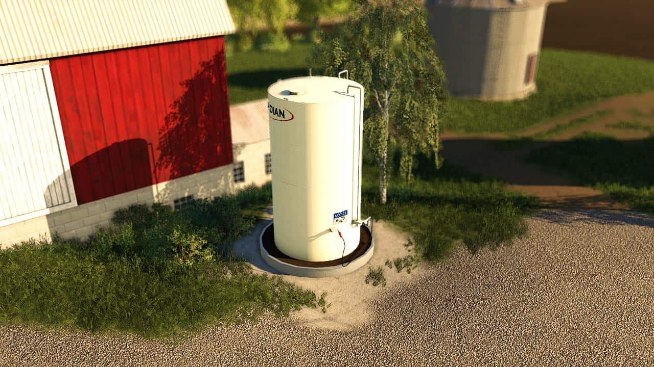 FS19 Meridian FuelTank and BulkBins - Farming Simulator 17