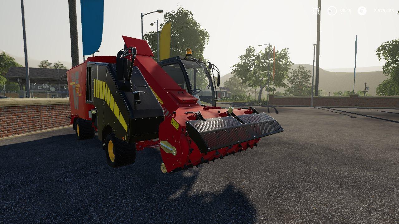 Strautmann Forage Mixer by Stevie FS19 - Farming Simulator