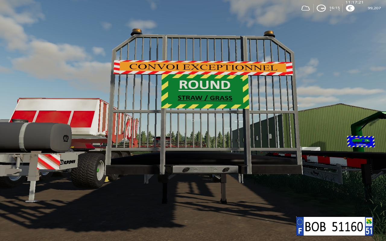FS19 Fliegl Flatbed Round Square Autoload v1 0 0 4 - Farming