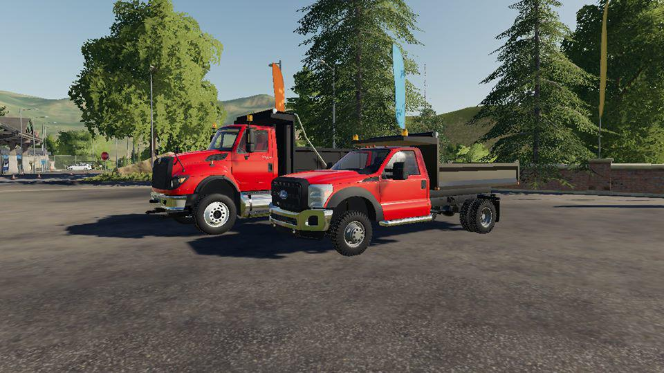 FS19 Interational Workstar Dump Truck Idk Probally Final - Farming