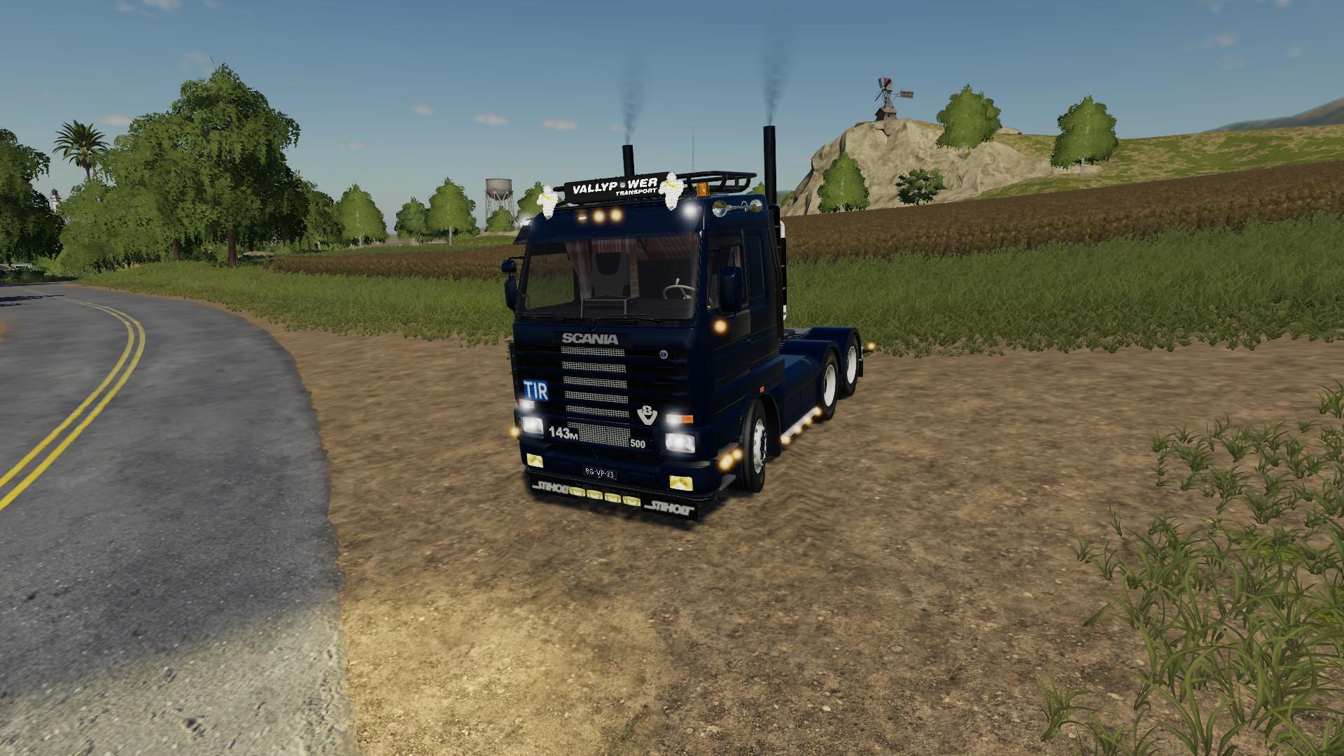 Fs19 Scania 143 6x4 V1 0   Fs