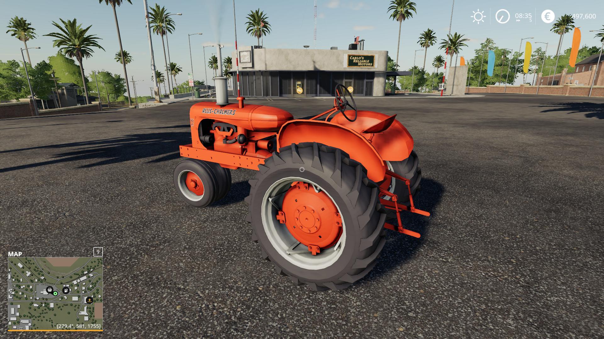 FS19 Allis Chalmers WD45 v2 0 - Farming Simulator 17 mod