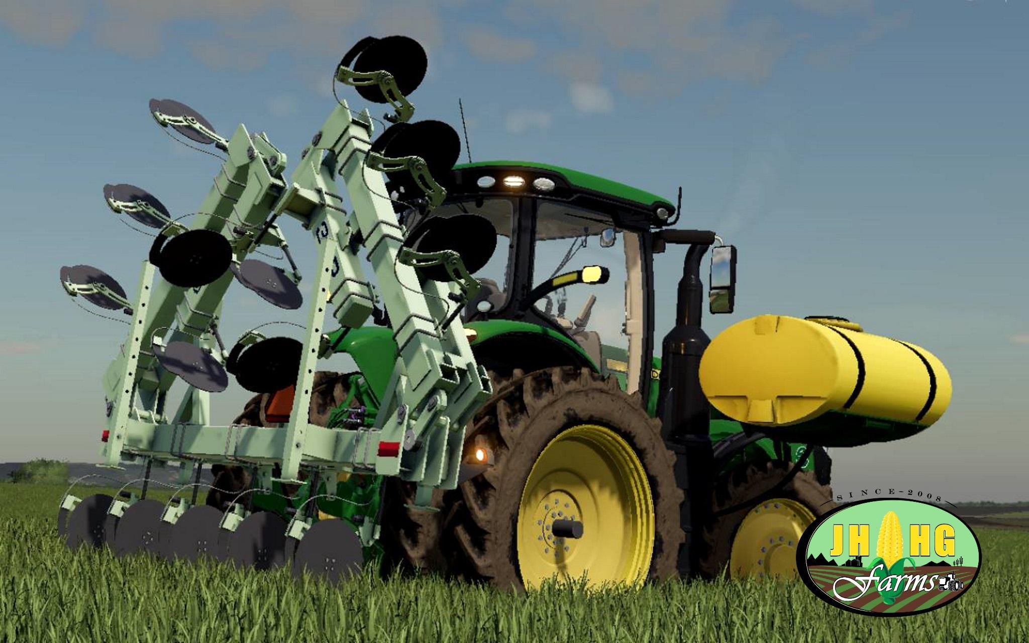 FS19 Orthman 3LP - 15 Side Dresser v1 0 - Farming Simulator 17 mod