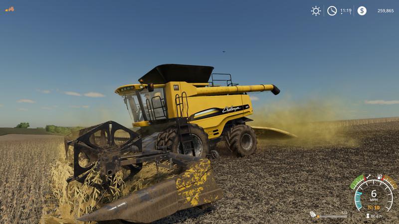 FS19 Agco Challenger 680b Ernester v1 0 - Farming Simulator
