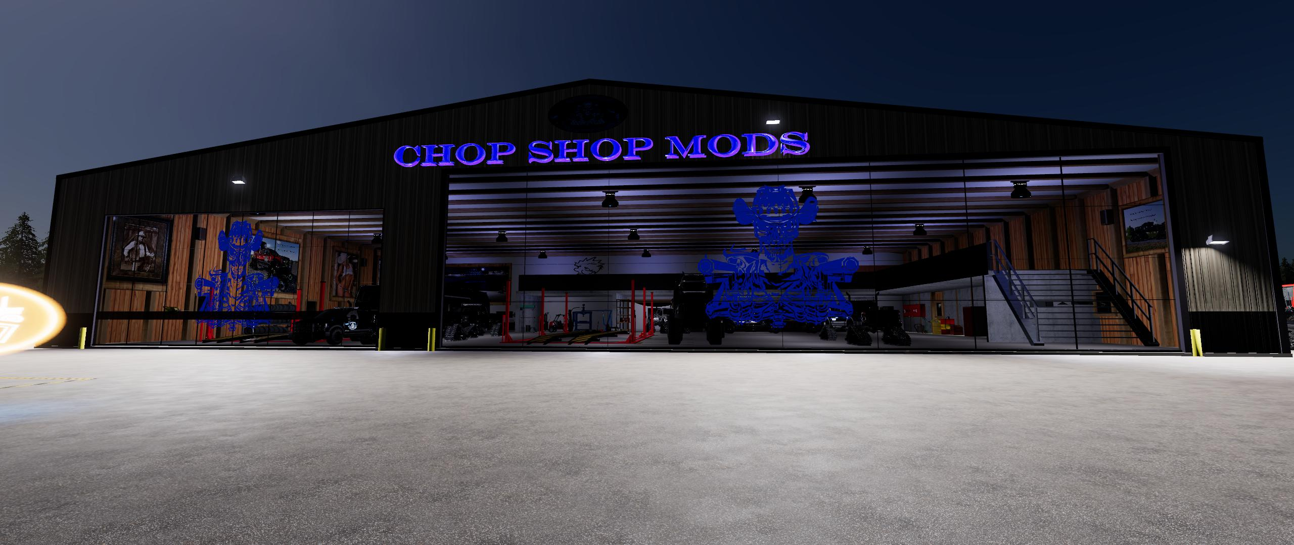 Fs19 Chop Shop Mods Csm Ultimate Workshop V1 0 10