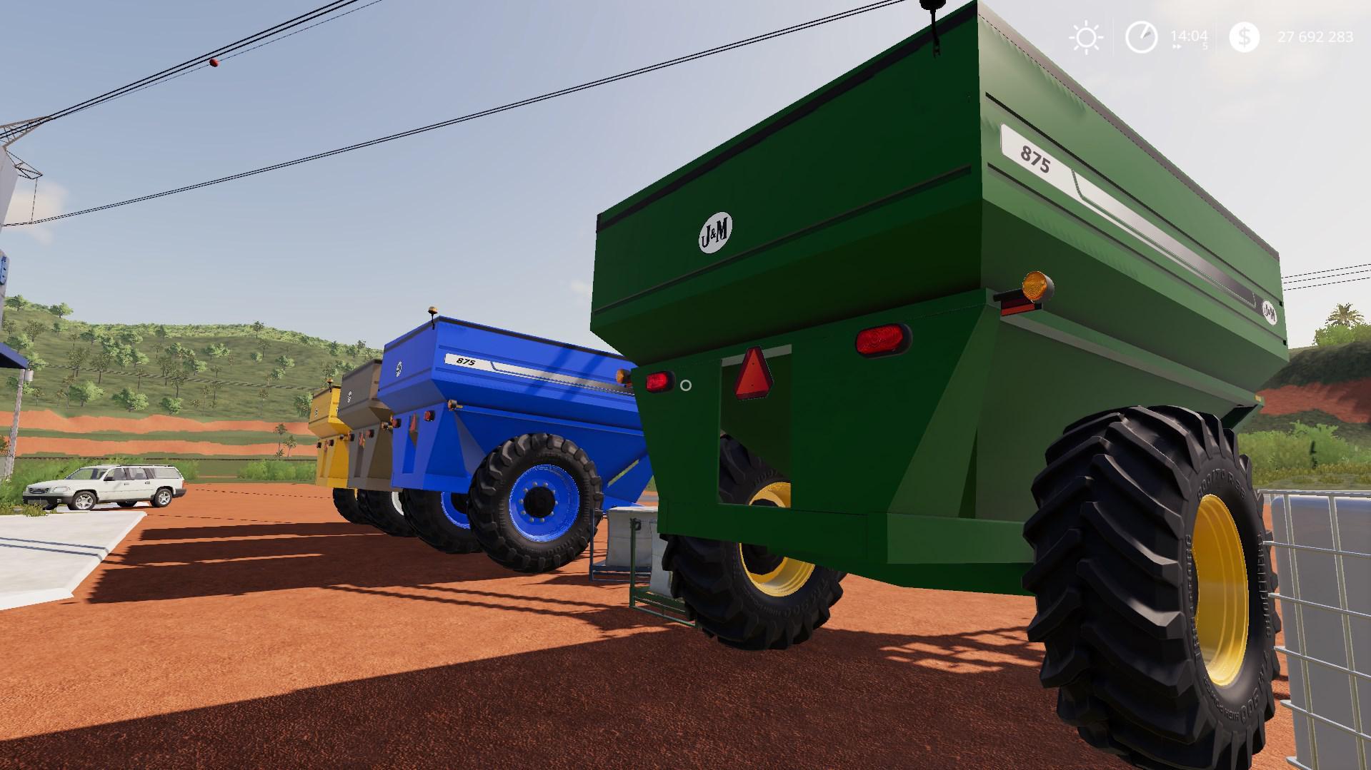 FS19 JM 875 v1 0 0 0 - Farming Simulator 17 mod / FS 2017 mod