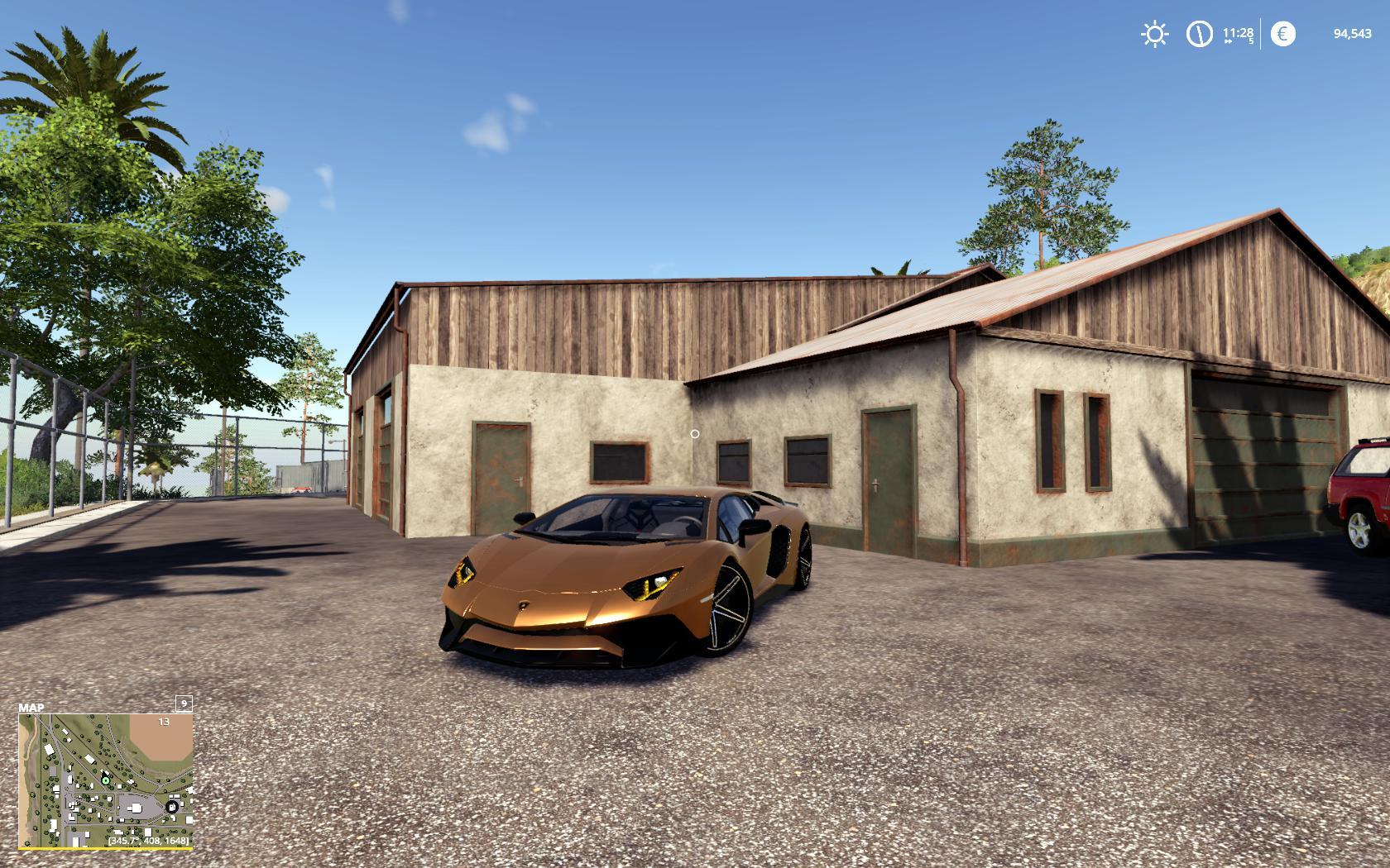FS19 Lamborghini Aventador LP750-4 SV v1 0 - Farming