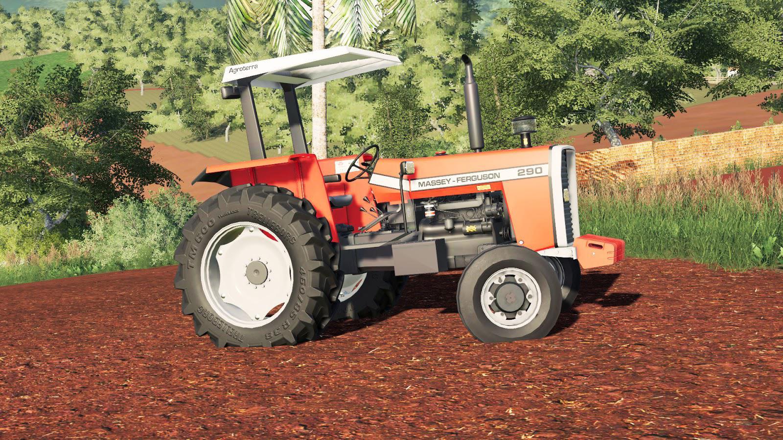 FS19 Massey Fergusson 290 v1 0 0 0 - Farming Simulator 17 mod / FS