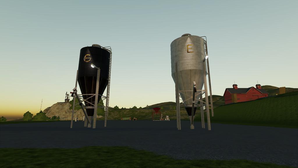 FS19 Multi Filling Station v1 0 0 0 - Farming Simulator 17
