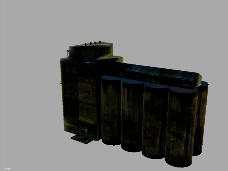 FS19 Prefab silo building v1 0 - Farming Simulator 17 mod