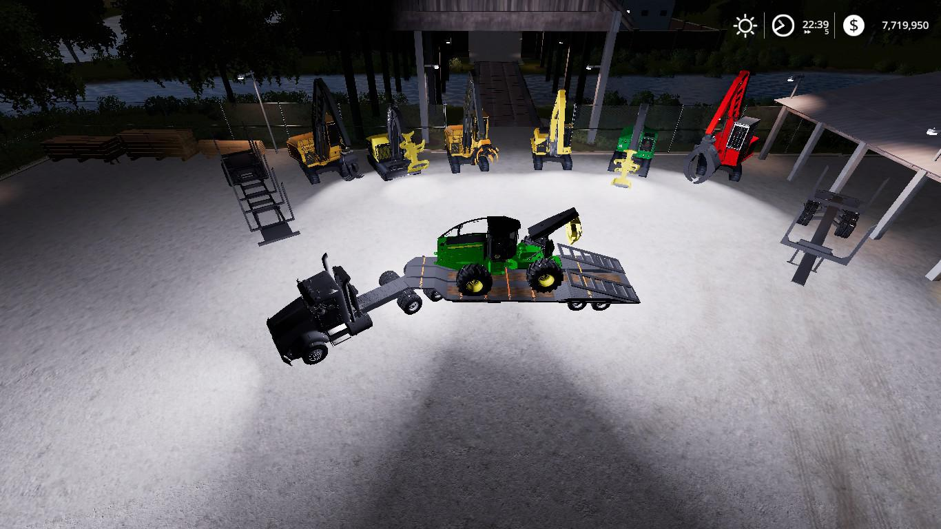 FS19 Complete FDR Logging Equipment Pack v4 0 3 - Farming