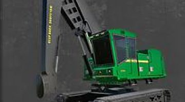 FS19 FDR Logging - John Deere 909M v1 0 - Farming Simulator