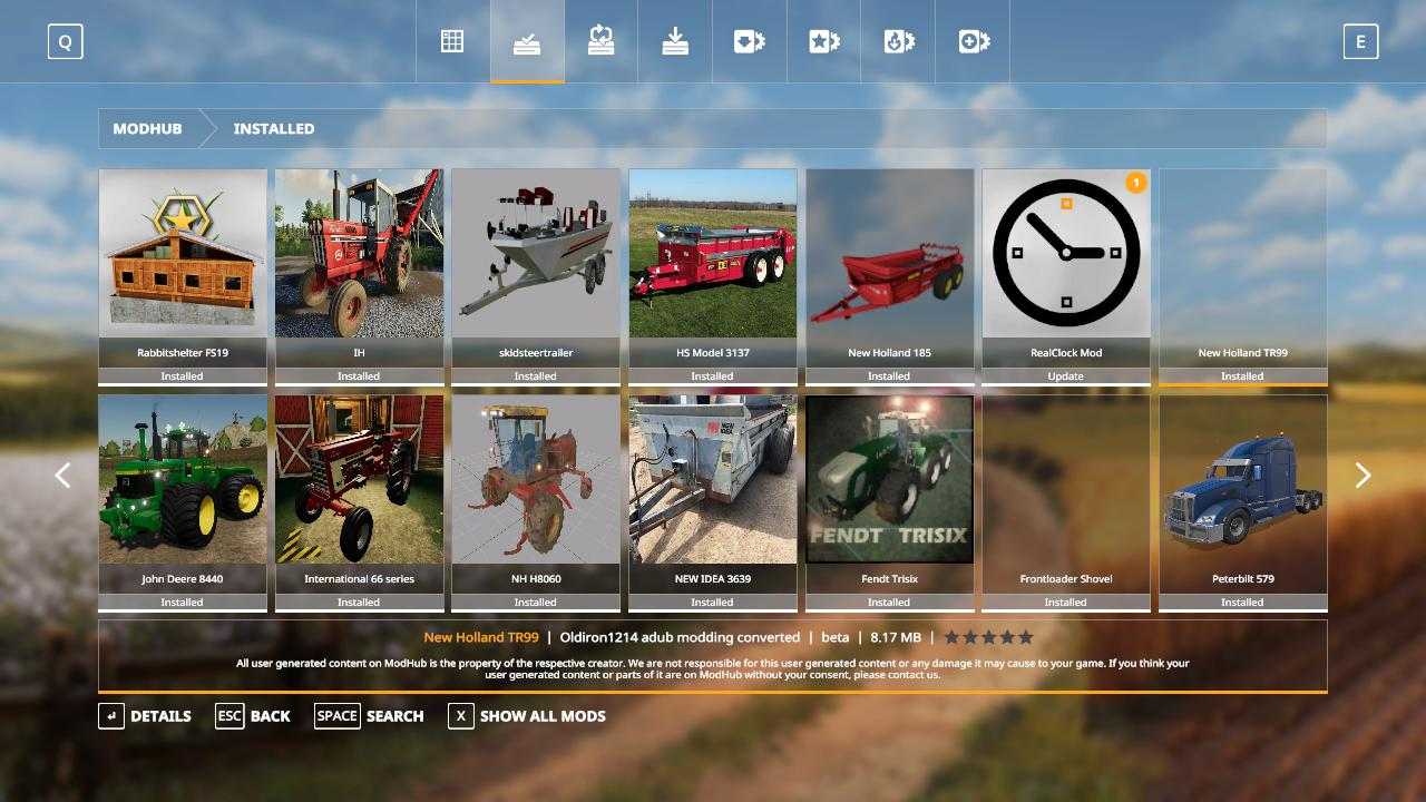 FS19 NEW Holland TR99 beta - Farming Simulator 17 mod / FS 2017 mod
