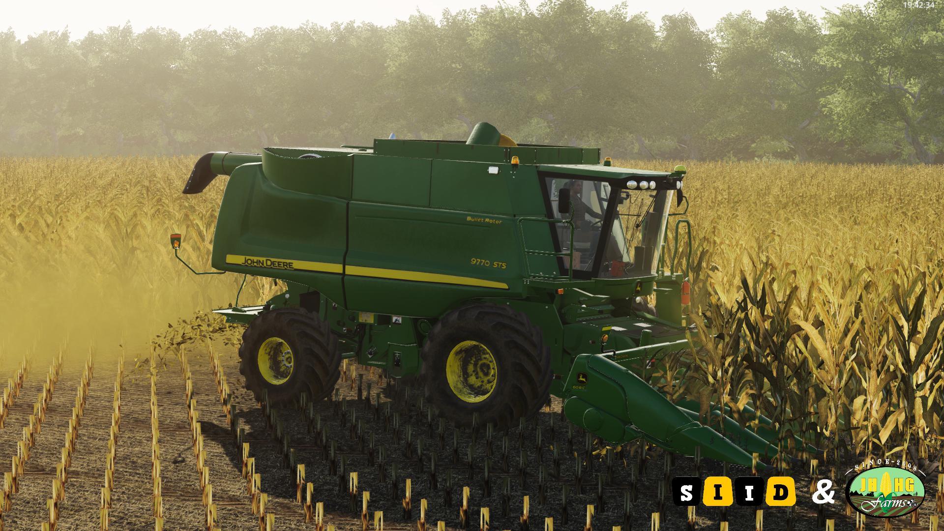 FS19 John Deere STS 60 & 70 Series Official v2 0 - Farming