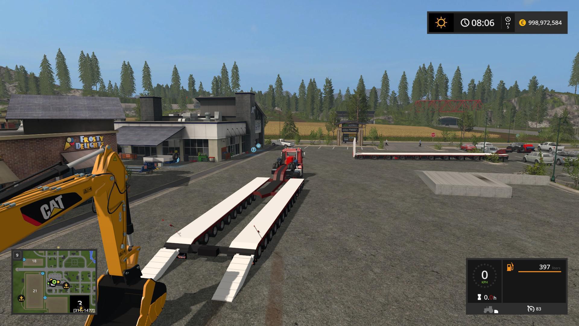 Drake Trailers 2 & 2 5 v1 0 FS17 - Farming Simulator 17 mod