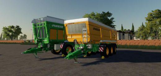 FS19 Module 4 cotton bale trailer - Farming Simulator 17 mod / FS
