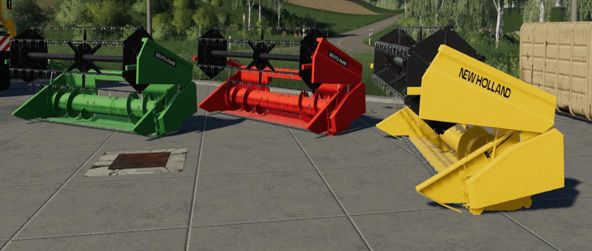 New Holland TX34 / Deutz-Fahr Topliner Prototyp Mod
