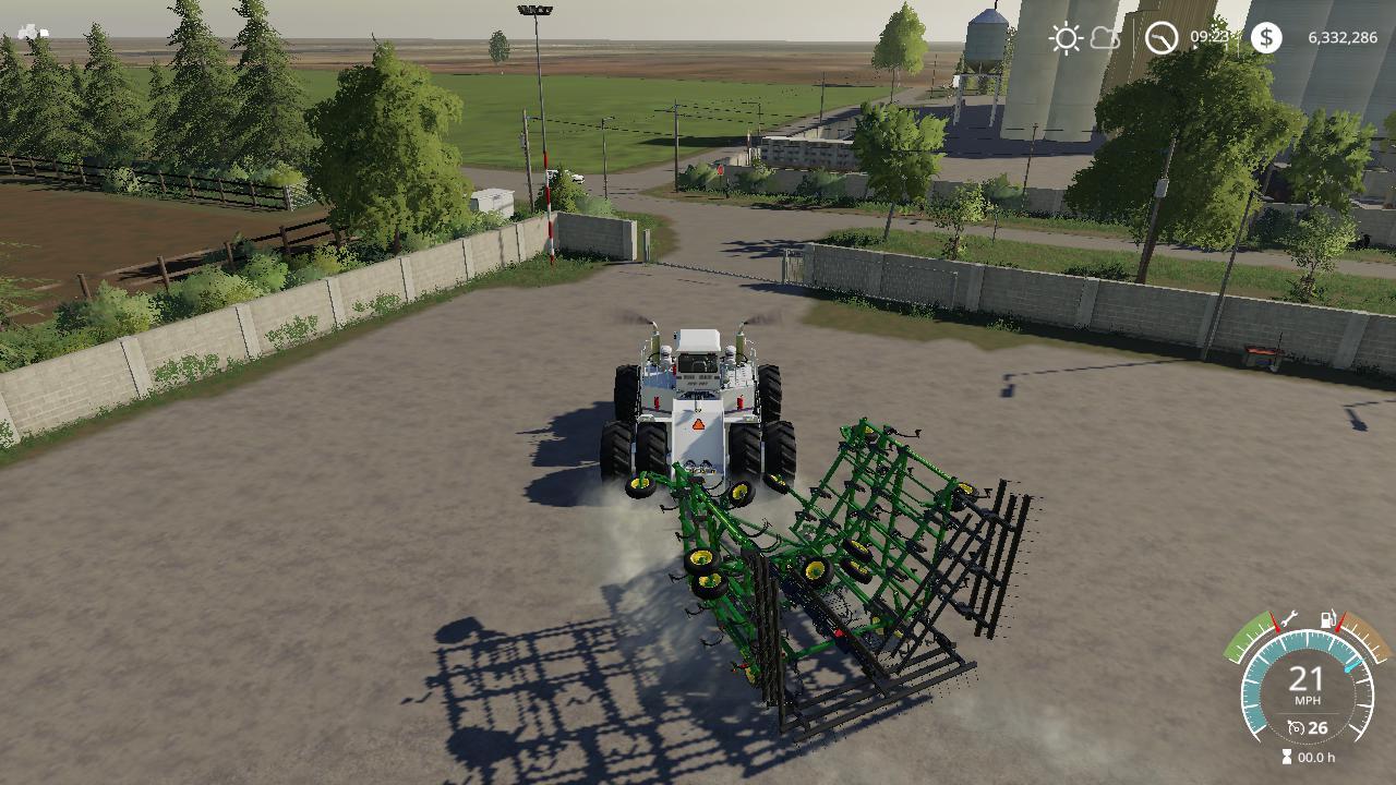 FS19 John Deere 2410 5 section plow v1 0 - Farming Simulator