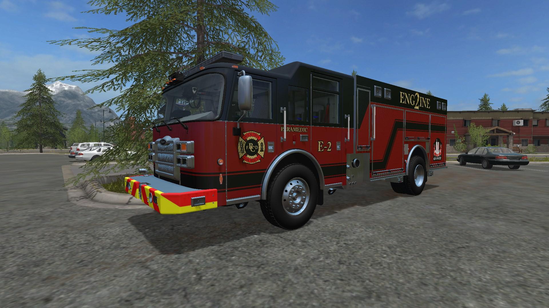 Pierce Saber/Enforcer PUC Engine v1 0 FS17 - Farming