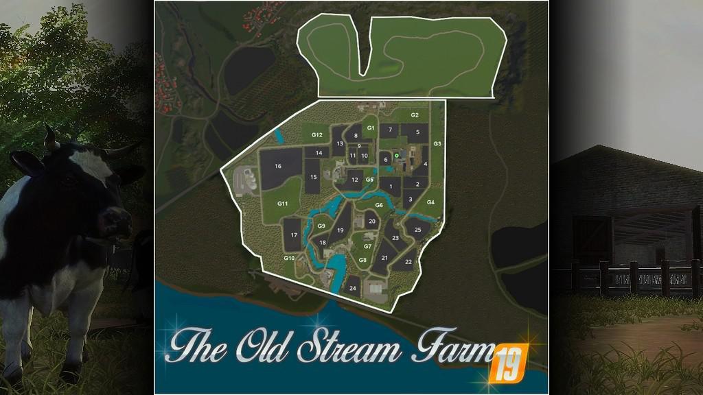 FS19 The Old Stream Farm v1 2 0 0 - Farming Simulator 17 mod
